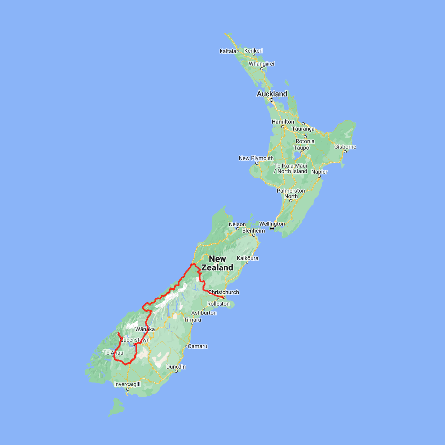 7 day Southern Alps to the Southern Lakes - view full itinerary