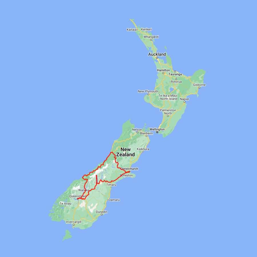 8 day Queenstown and Glacier Explorer - view full itinerary