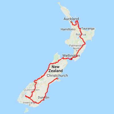 Where Is Christchurch New Zealand On The Map.14 Day Self Drive Itinerary New Zealand Motels