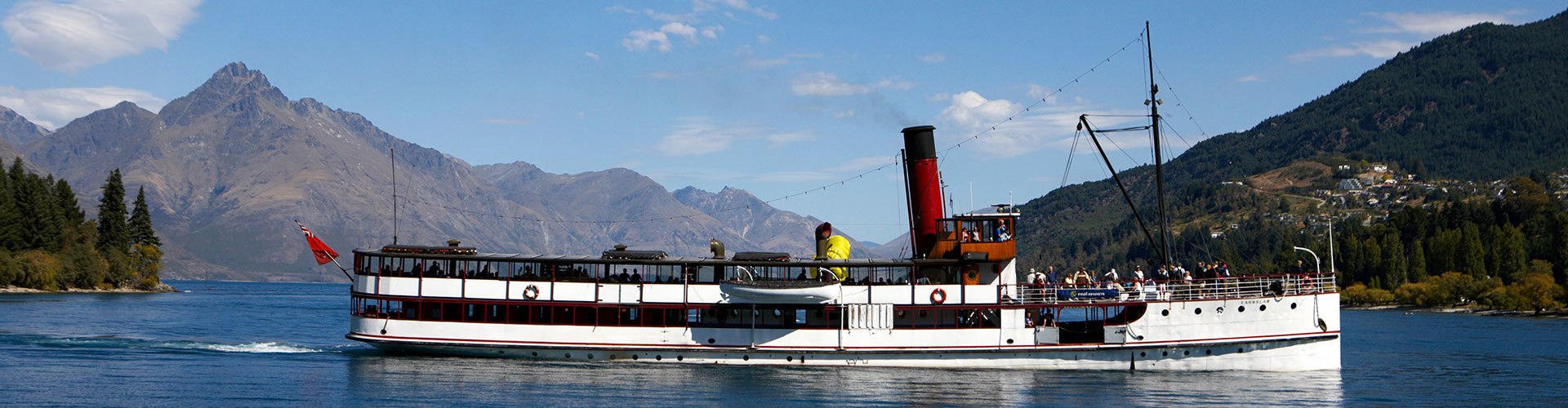 Steamship tour on Lake Wakatipu, Queenstown NZ