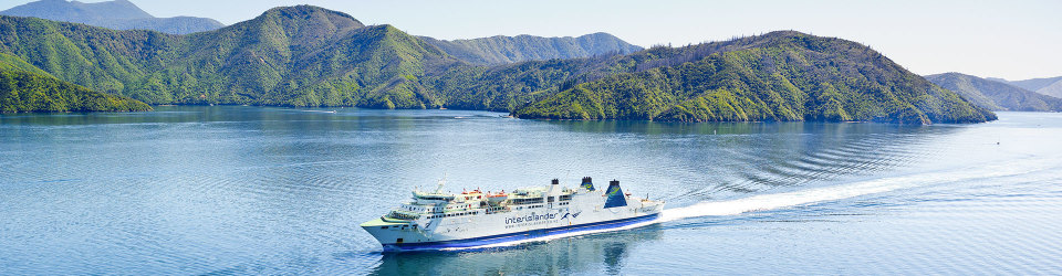 Take the ferry across the Cook Strait to the South Island