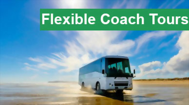 Bus & Coach Tour Packages - Flexible Daily Departures