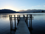 Te Anau Lake, South Island