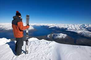 Ski New Zealand, Queentown Coronet Peak and Remakables Ski areas
