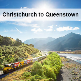 New Zealand Tours Christchurch to Queenstown