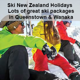 Ski New Zealand - Queenstown packages