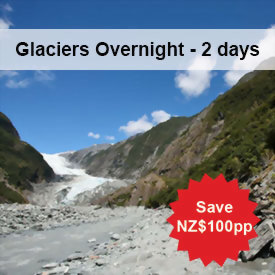 5 day South Island New Zealand tour